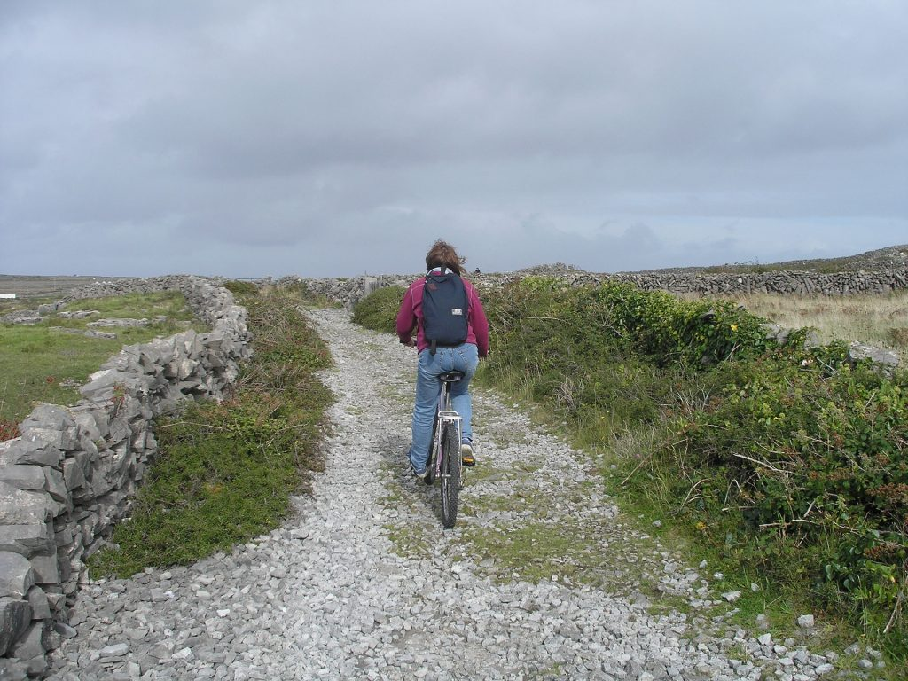 Biking the Aran Islands, Ireland