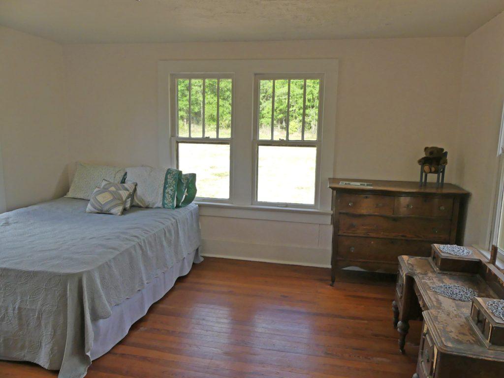 Back bedroom in Ma Barker's house.