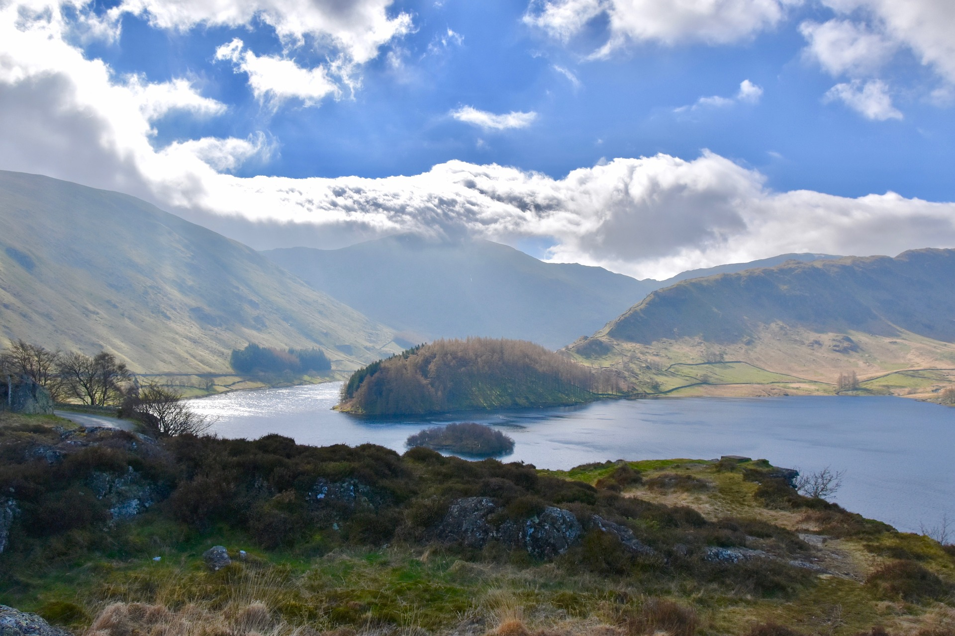 Haweswater Reservoir in the Lake District.