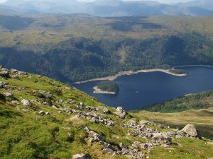 Mountain view in Cumbria.