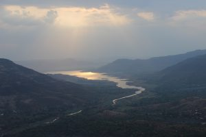 Sunrise over Mahabaleshwar, India