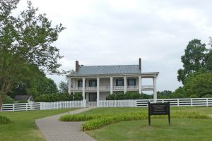 The Carnton House where Confederate soldiers were treated during the Franklin battle. Photo: Kathleen Walls