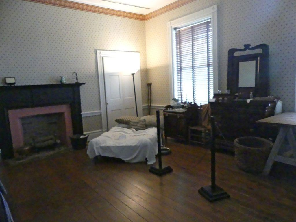 Winders room in Carnton house. Photo: Kathleen Walls