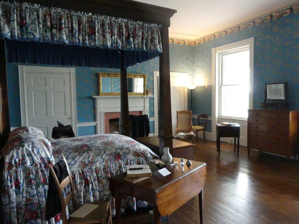 Bedroom photo in Carnton taken by Kathleen Walls