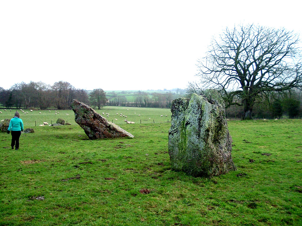 Stanton Drew stone circles. Photo by John W. Schulze (CC).