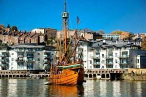 Bristol Harbor is a great day trip from London.