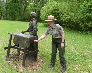 Ranger Ashley Berry. Photo: Kathleen Walls