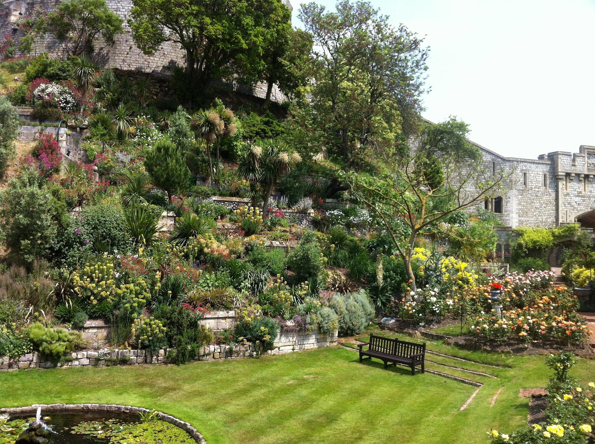 Garden at Windsor Castle