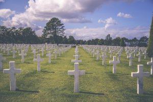 Graveyard on Normandy
