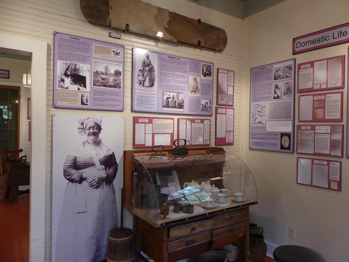 Exhibit of a slave's life on Laura Plantation. Photo: Kathleen Walls