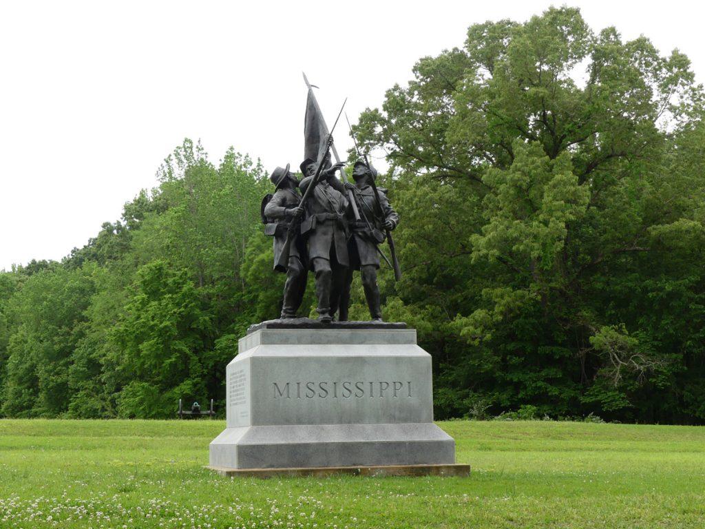 Shiloh, Mississippi monument. Photo: Kathleen Walls