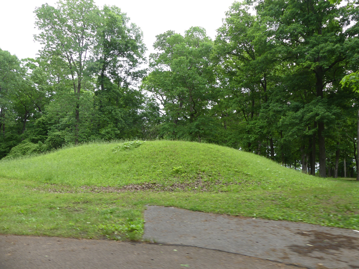 Indian mound. Photo: Kathleen Walls