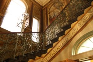 King's Staircase in Kensington Palace photo by Jeff Summers
