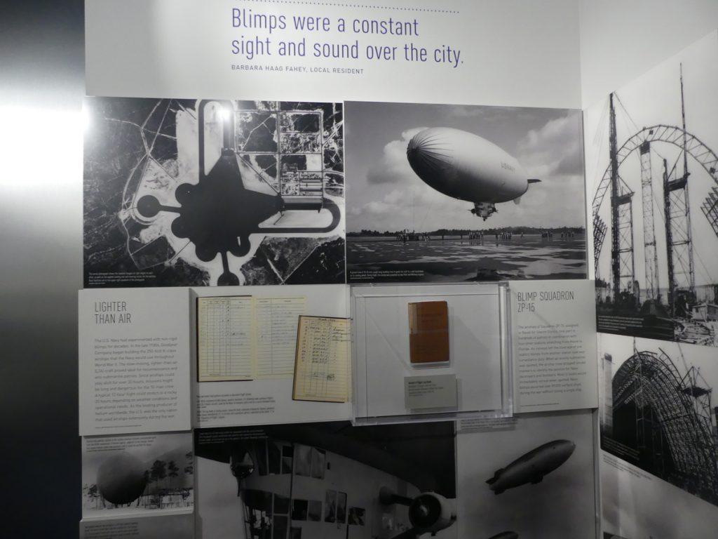 Blimp exhibit. Photo: Kathleen Walls