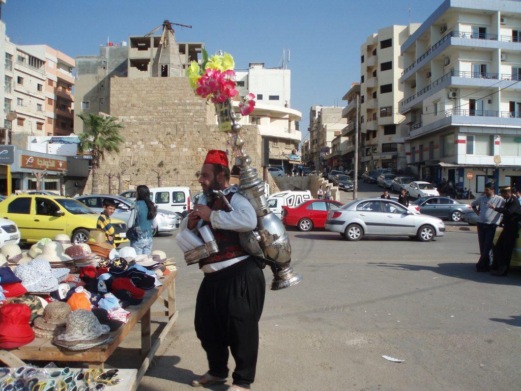 Street vendor in Syria