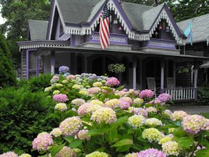 Typical house on Martha's Vineyard.