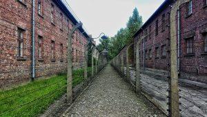 Inside Auschwitz concentration camp