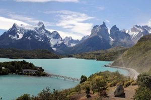 Torres del Paine National Park in Chile is a setting for the luxury pop-up camp.