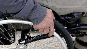 Wheelchair traveler