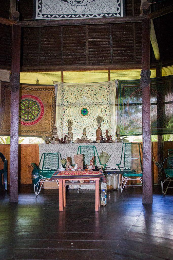 Ayahuasca Altar