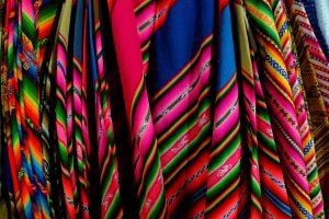 Traditional textiles of Cholitas