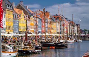 Nyhavn is a district in Copenhagen.