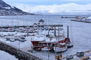 marina in the Arctic Circle