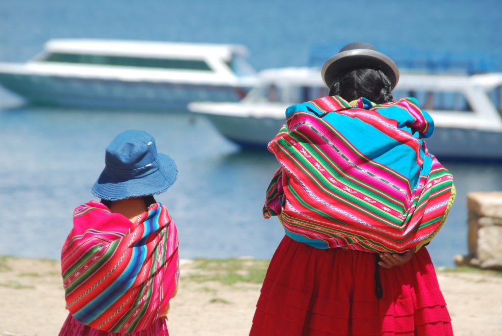 Las Cholitas of Bolivia are indigenous women