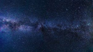 View of the Milky Way