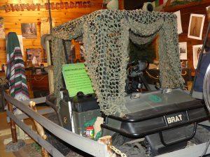 BRAT ATV used for Bigfoot Research. Photo: Kathleen Walls