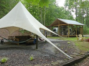 Eletse' Yi has other glamping options as well as the dome. Photo: Kathleen Walls