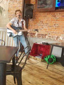 Matty Croxton performing at Cantaberry. Photo: Kathleen Walls