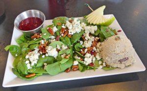 Chicken salad at Cantaberrys. Photo: Kathleen Walls