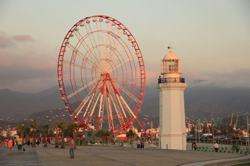 Seaport town of Batumi, Georgia