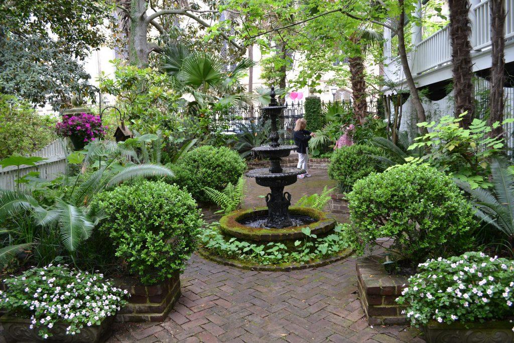 Savannah, Georgia garden