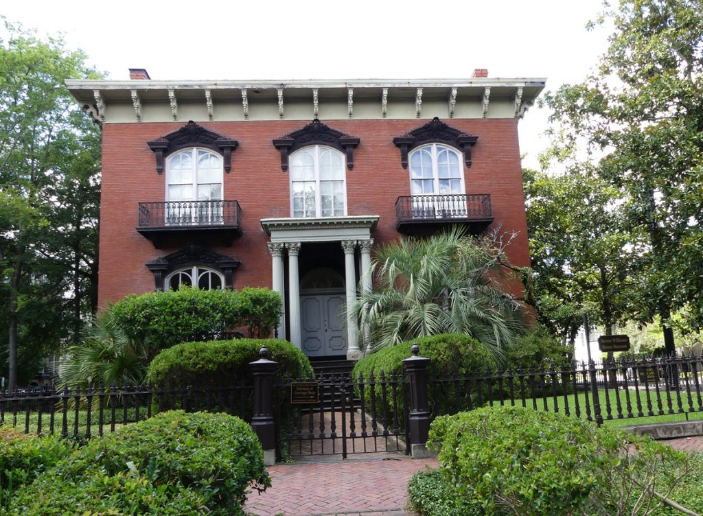 Mercer Williams House. Photo: Kathleen Walls