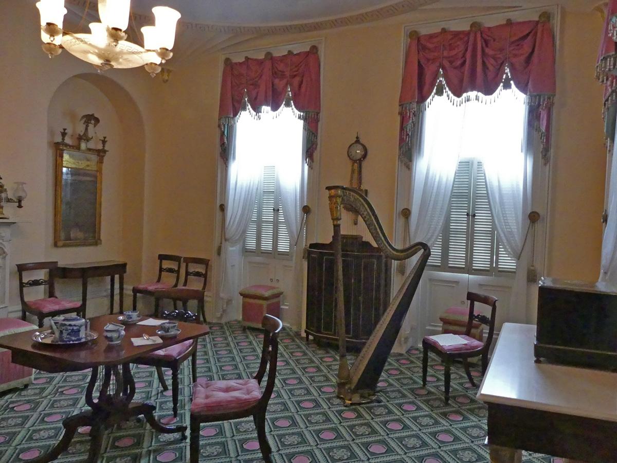 Parlor within the Owen-Thomas house. Photo: Kathleen Walls
