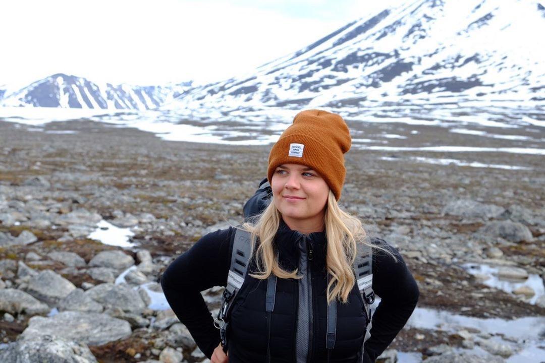 Travel journalist Alicia-Rae Olafsson.