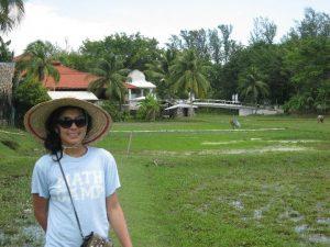 Malaysia | Carmen Ang in Malaysian Langkawi Rice patties