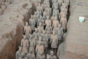 Terra Cotta warriors in Xi'an China