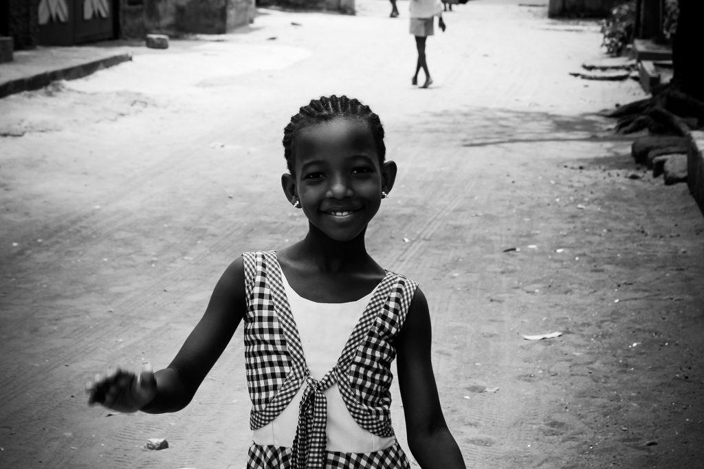 Burundi little girl
