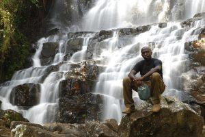 Burundi waterfall