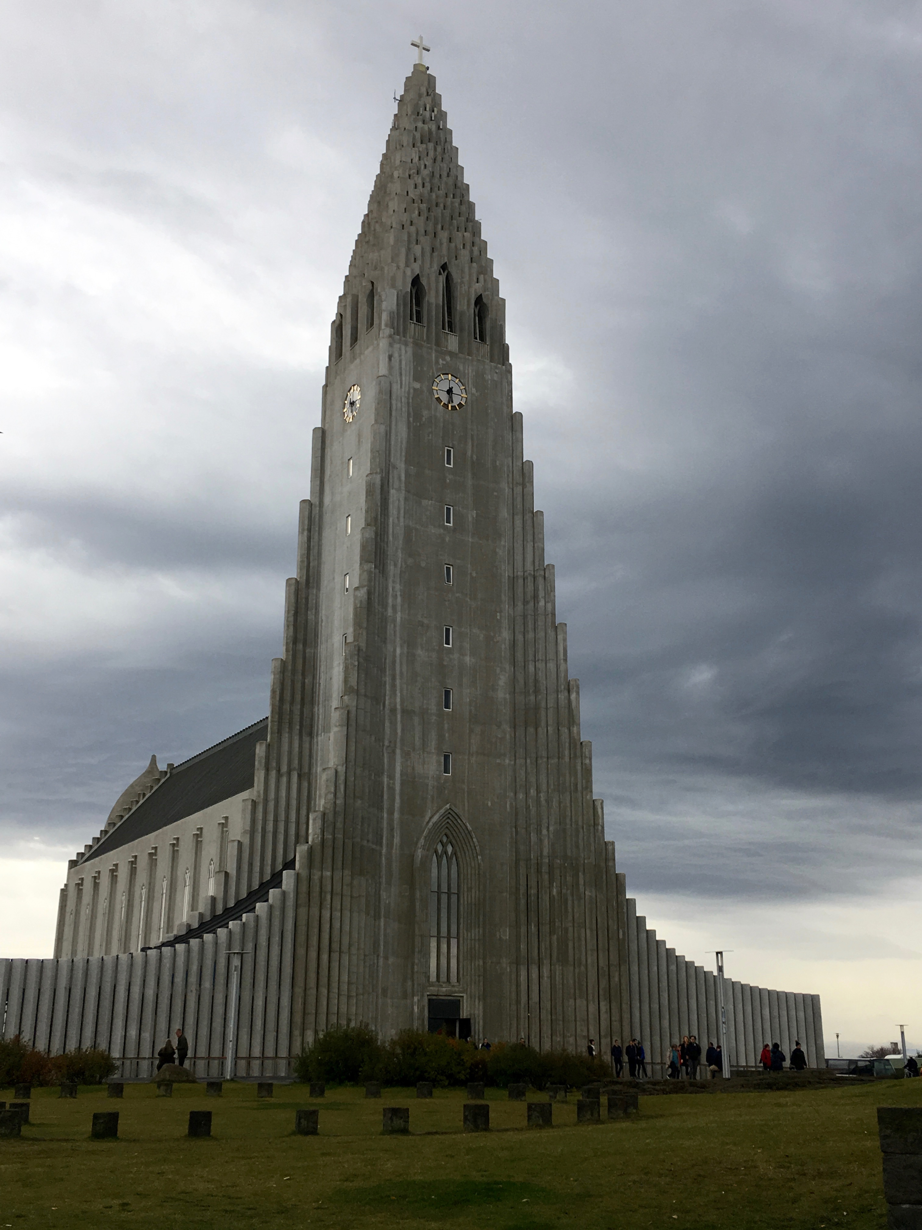 Hallgrimskirkja Cathedral in Reykjavik, Iceland. Photo: Tonya Fitzpatrick