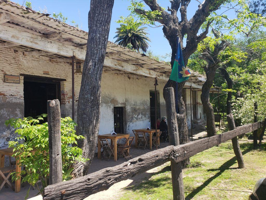 Exterior of the Pulperias