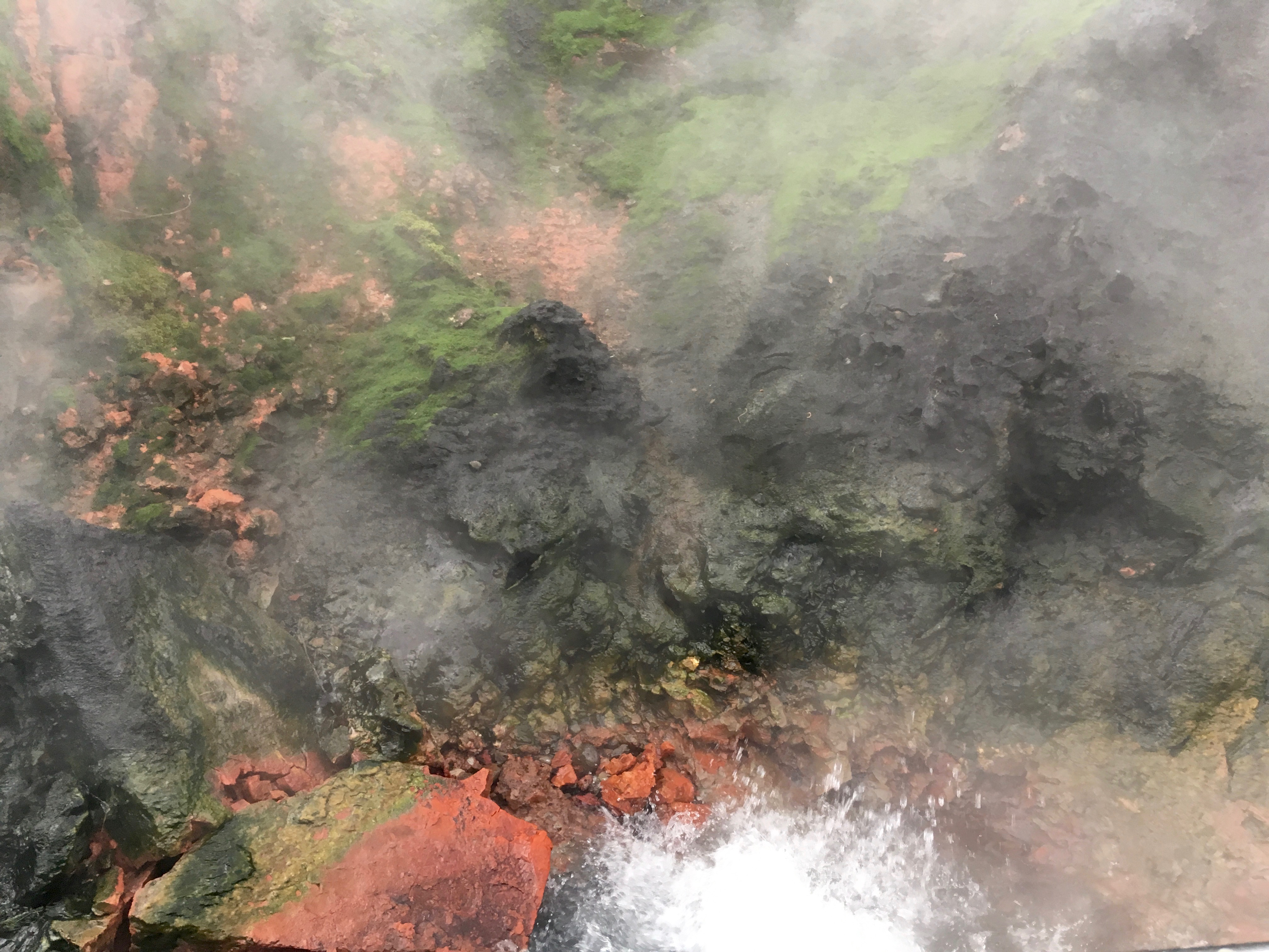 A boiling thermal pool--one of many throughout Iceland. Photo: Tonya Fitzpatrick