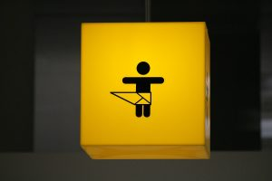 diaper changing room