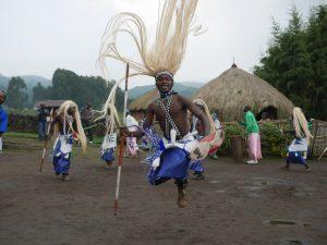 Rwanda Tribal Dancer