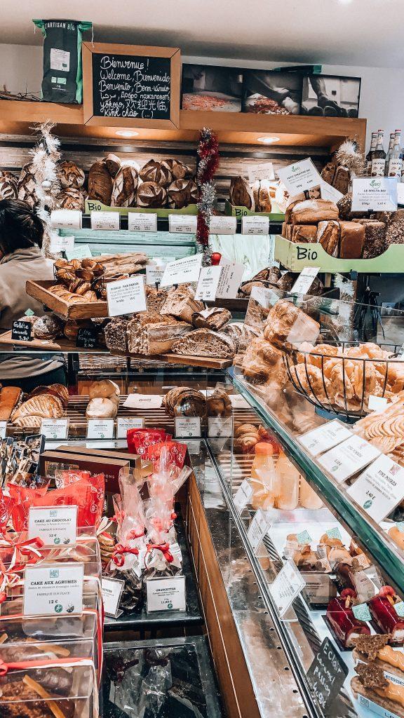 Boulangerie in Latin Quarter. Photo: Kellie Paxian