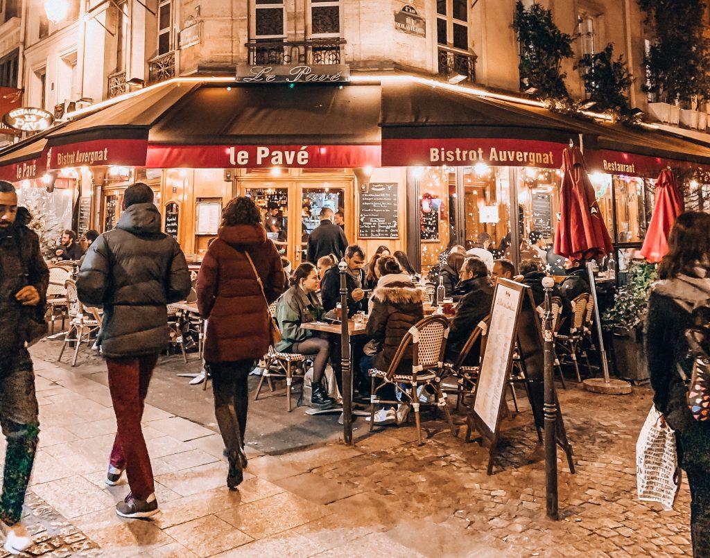 Paris - Brasseries in the winter. Photo: Kellie Paxian