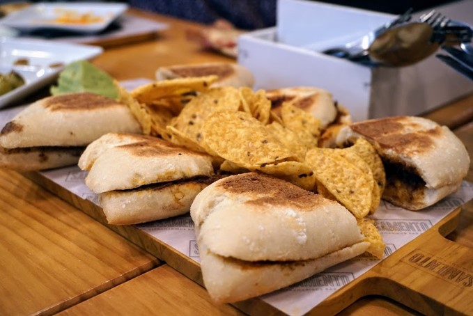 Photo of Spanish sandwich, a popular snack in Spain